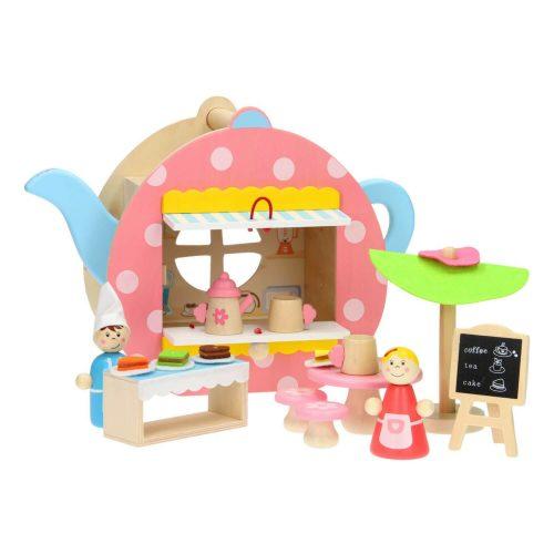 draagbare poppenhuisje met inhoud Sassefras Meisjes Speelgoed
