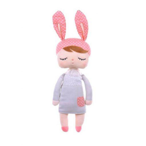 Metoo Angela doll grijs 30 cm Sassefras Meisjes Speelgoed
