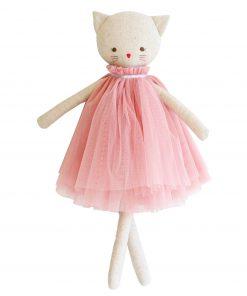 Alimrose Aurelie Poezen Pop 48cm Roze Sassefras