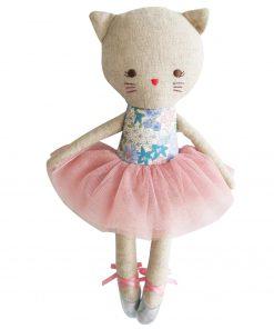 Odette Kitty ballerina liberty blue Sassefras Meisjes Speelgoed