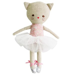 Odette Kitty ballerina pink blossom Sassefras Meisjes Speelgoed