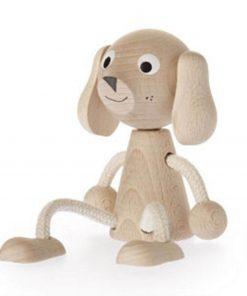 houten zitfiguur Harry de Hond Sassefras