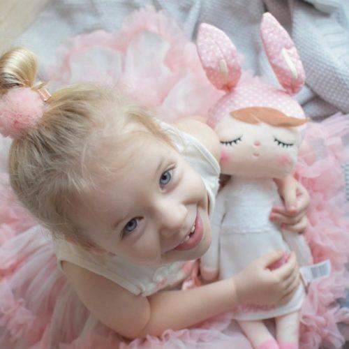 metoo Angela pop wit met meisje Sassefras Meisjes Speelgoed