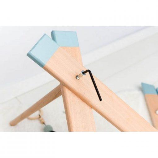 houten babygym in elkaar zetten Sassefras
