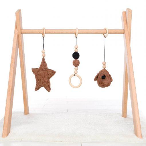 houten babygym zelf samen te stellen Sassefras