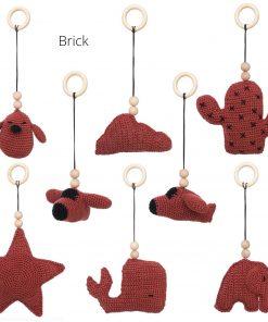 losse speeltjes voor de babygym brick Sassefras