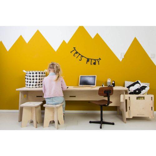 houten multiplex speeltafel spelen Sassefras Meisjes Speelgoed