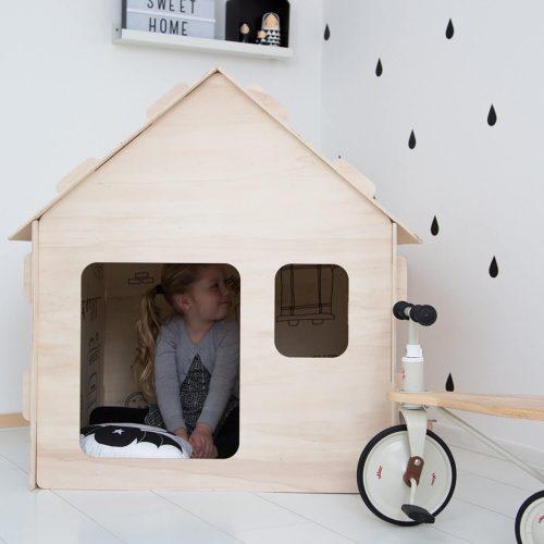 kinder speelhuisje standaard voor binnen Sassefras Meisjes Speelgoed