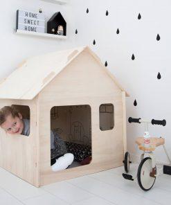 kinderspeelhuisje voor binnen Sassefras Meisjes Speelgoed