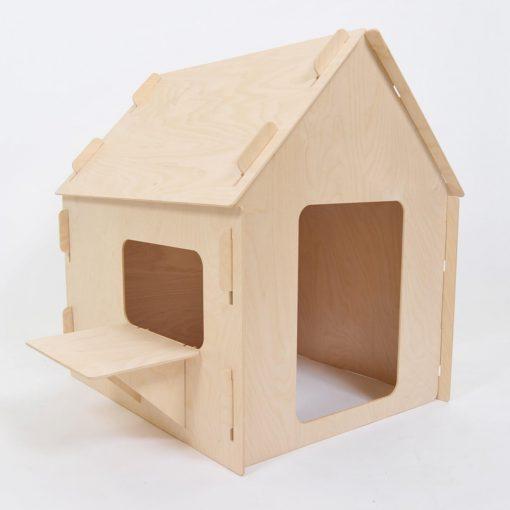 kinder speelhuisje voor binnen standaard Sassefras Meisjes Speelgoed