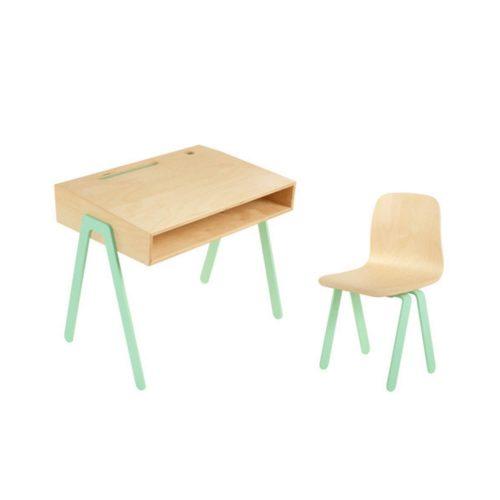 multiplex kinderbureau met stoel Sassefras Meisjes Speelgoed