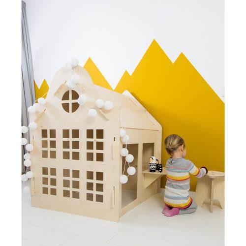 multiplex krukje voor kinderen sfeer Sassefras Meisjes Speelgoed