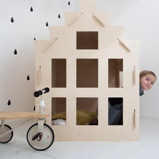 speelhuisje van multiplex Sassefras Meisjes Speelgoed