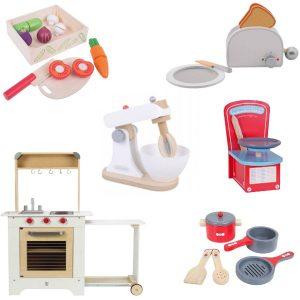Sassefrasmeisjesspeelgoed - koken - houten speelgoed