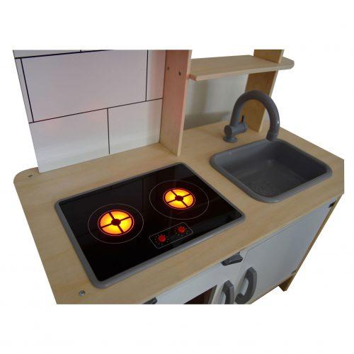 houten keukentje kookplaat Sassefras Meisjes Speelgoed