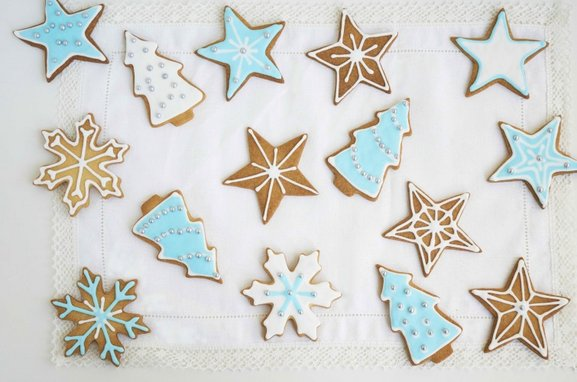 zelf kerstkoekjes maken en versieren Sassefras Meisjes Speelgoed