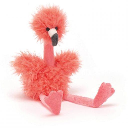 bonbon knuffel flamingo van jellycat Sassefras Meisjes Speelgoed