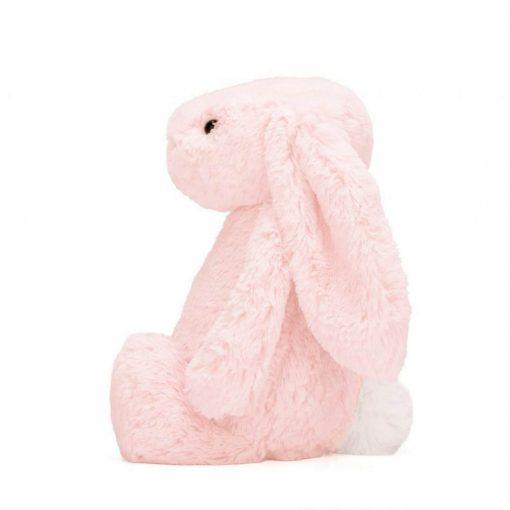 jellycat bashful bunny pink 31 cm zijkant Sassefras Meisjes Speelgoed