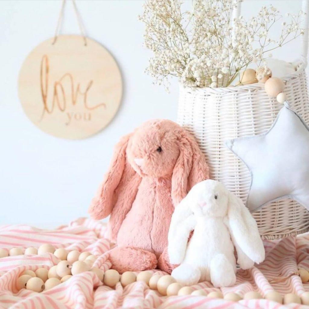 Jellycat bunnies merk Sassefras Meisjes Speelgoed