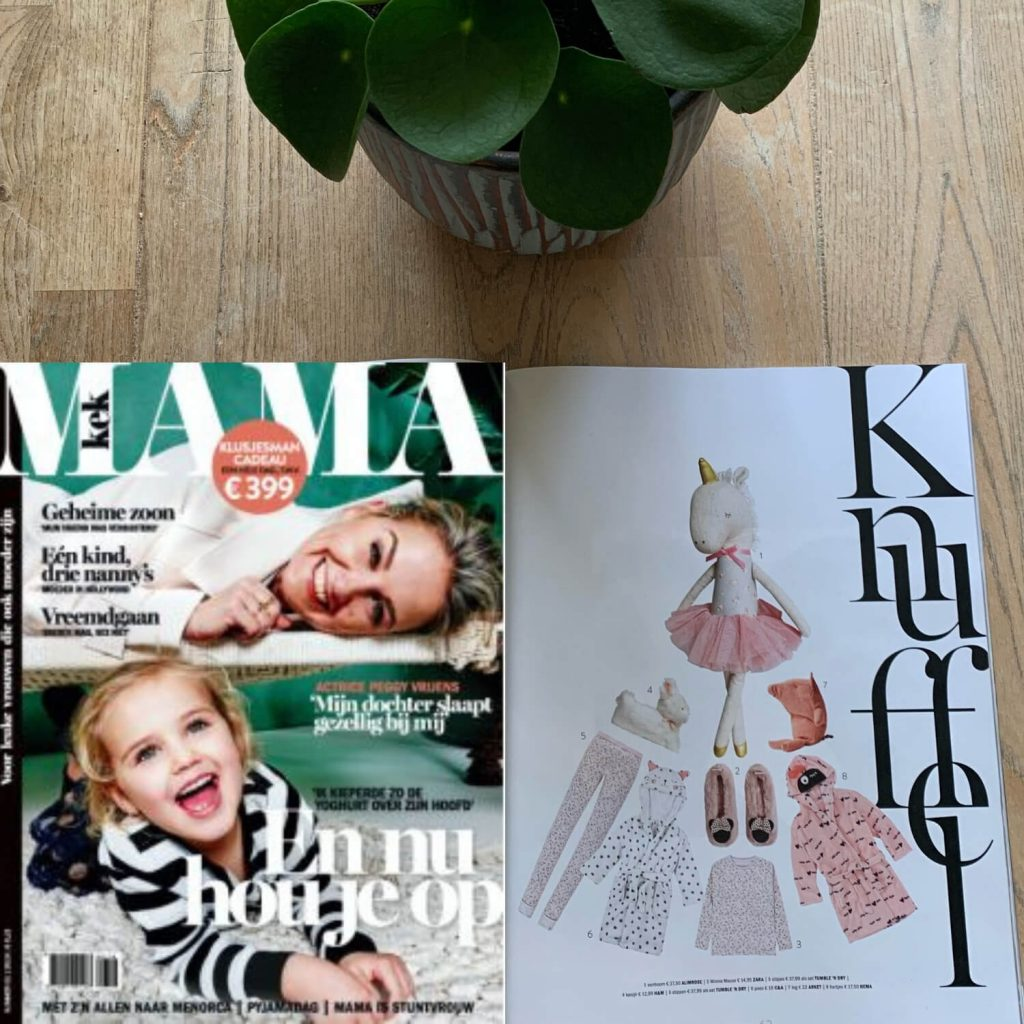 Sassefras Meisjes Speelgoed in de media, Kek Mama nummer januari 2019
