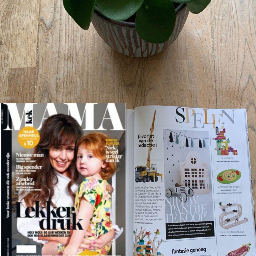 Sassefras Meisjes Speelgoed in de media, Kek Mama nummer maart 2019