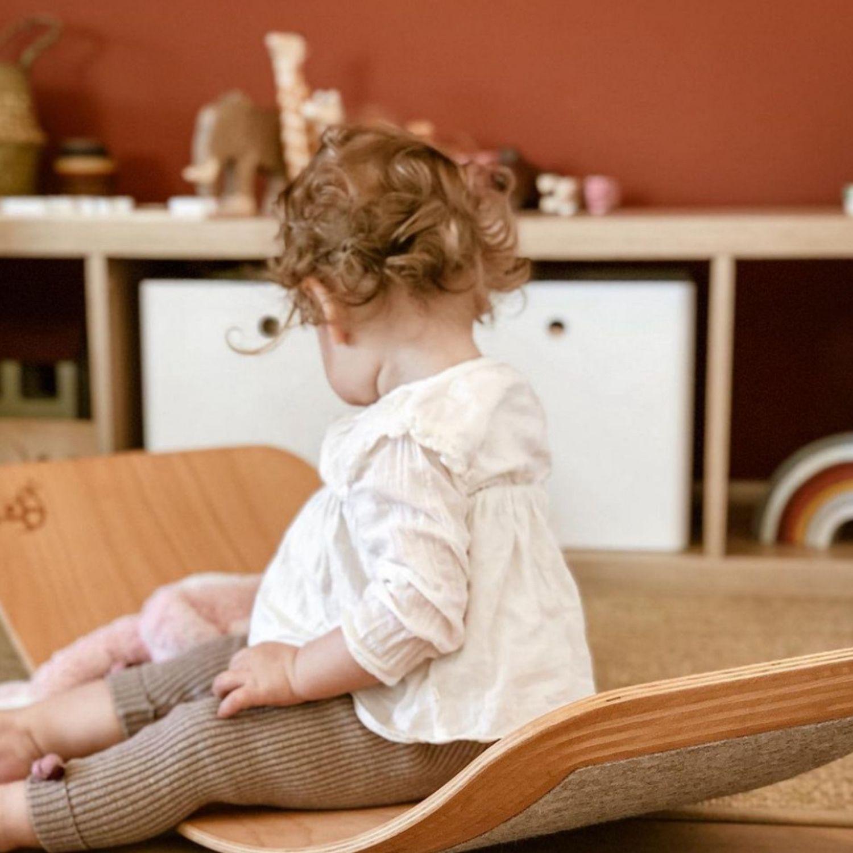 houten balansbord met vingerbescherming organische rand Sassefras