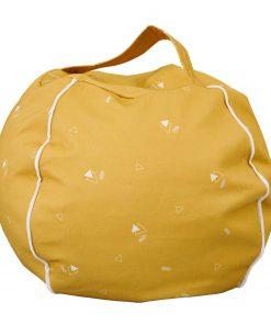ronde zitzak honey mustard Sassefras