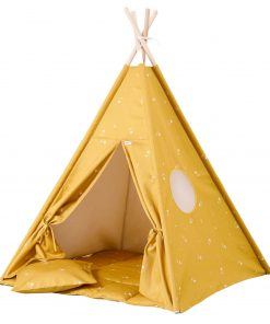 speelgoed tipi tent honey mustard Sassefras