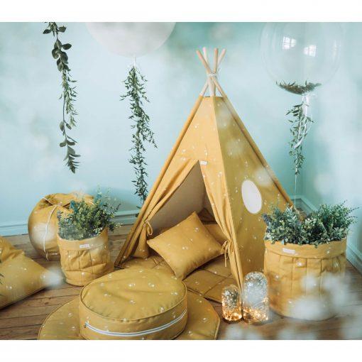 speelgoed tipi tent sfeer honey mustard Sassefras