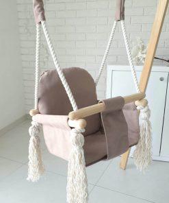 houten bunny swing zijkant Sassefras