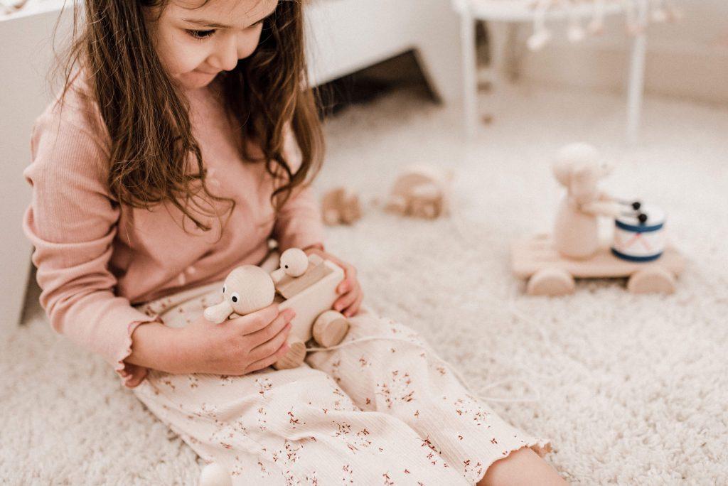 Bella en Lola trekfiguur eendjes blog Sassefras