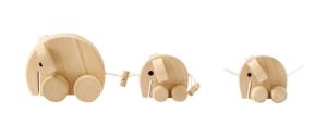 houten trekfiguur olifanten