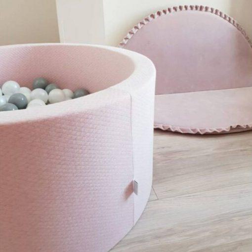 ballenbak quilted pink Sassefras