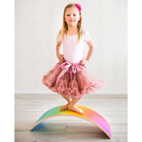 Utukutu balanceboard ombre rainbow