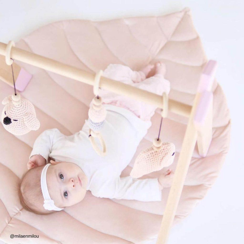 roze babygym homepagina Sassefras