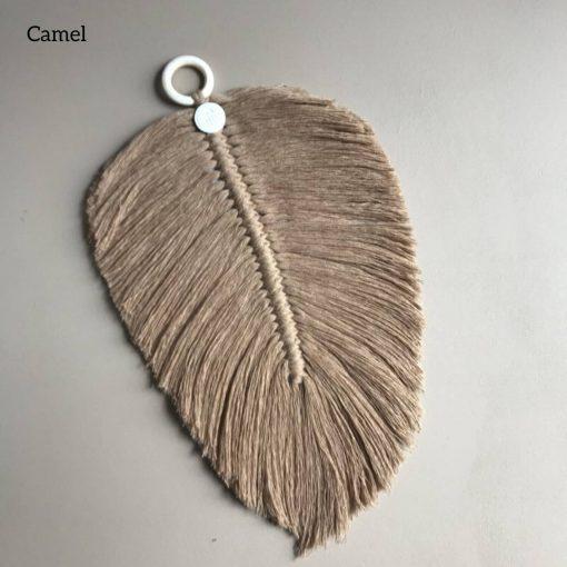macrame veer camel Sassefras