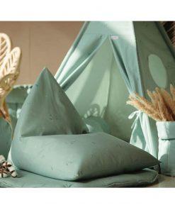 mini beanbag minty green sfeerfoto Sassefras