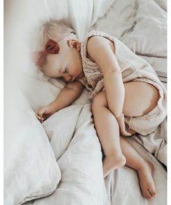 nylon haarbandje met een strik, babymeisje Sassefras