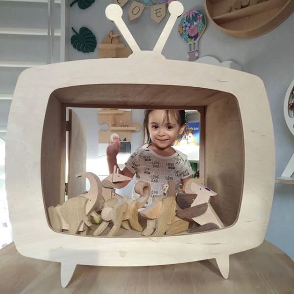 wandkastje televisie