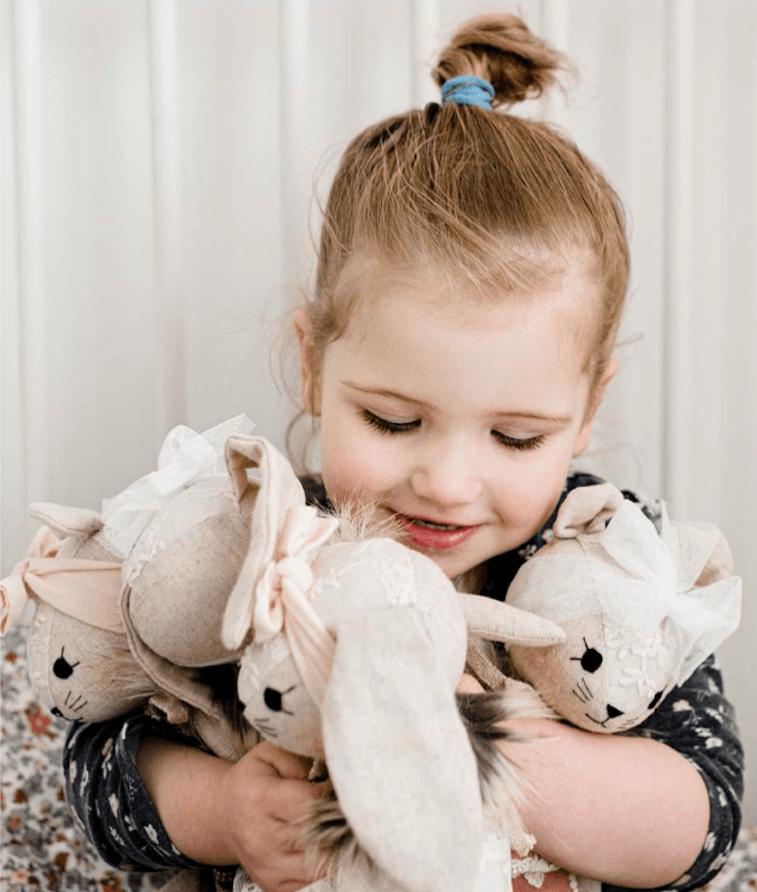 Wonderforest knuffelpoppen merk Sassefras