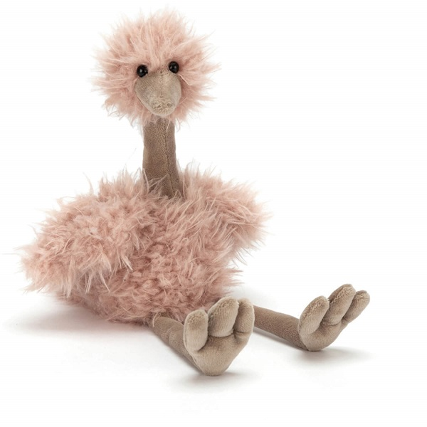 Jellycat knuffel Bonbon struisvogel