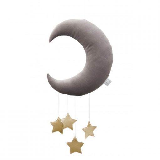cotton & sweets maan mobile gouden sterren Sassefras