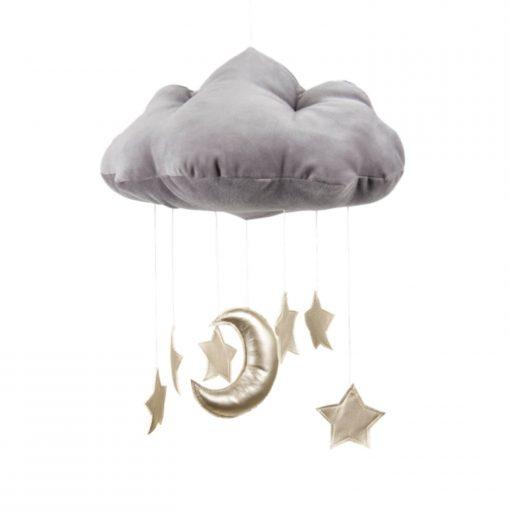 cotton & sweets wolk mobile gouden sterren Sassefras