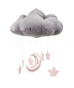 cotton & sweets wolk mobile roze sterren Sassefras