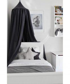 graphit bedhemeltje hangend aan het plafond Sassefras