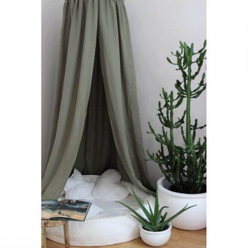 groen hemeltje hangend Sassefras