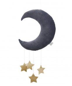 maan en sterren mobile goud Sassefras