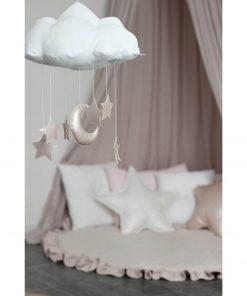 wolk en ster mobile hangend Sassefras