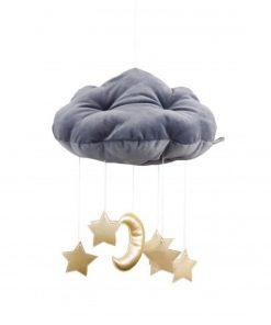 wolk en sterren mobile goud Sassefras