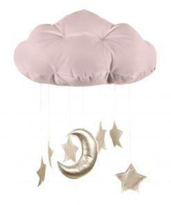 wolk mobile sterren goud Sassefras